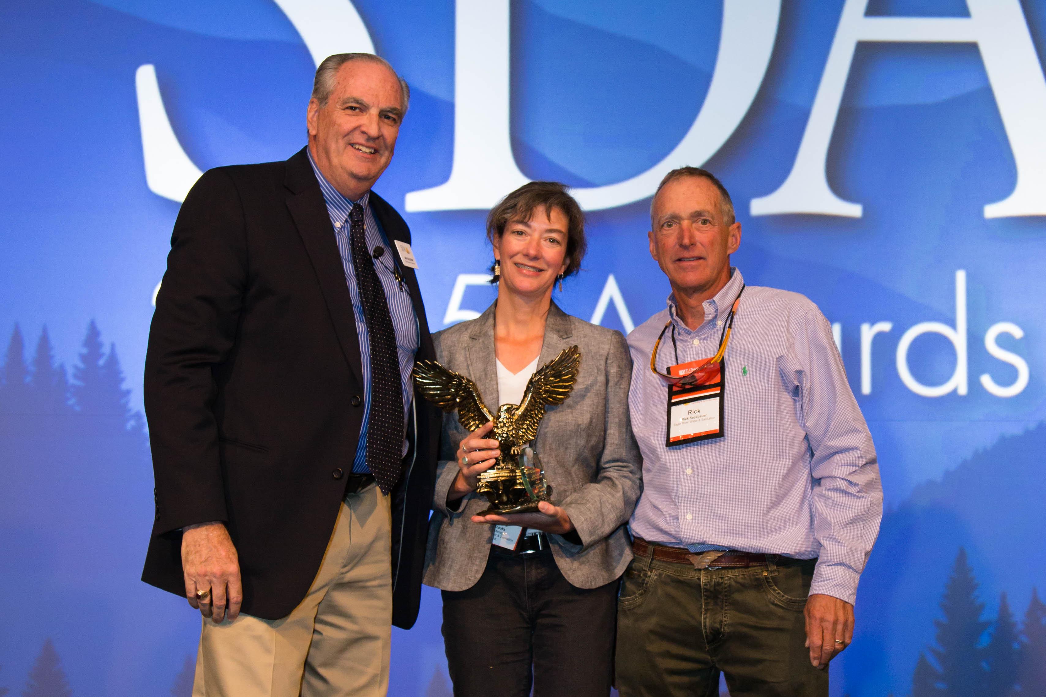 SDA District of the Year Award to ERWSD